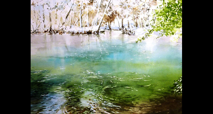 Tranh màu nước 02