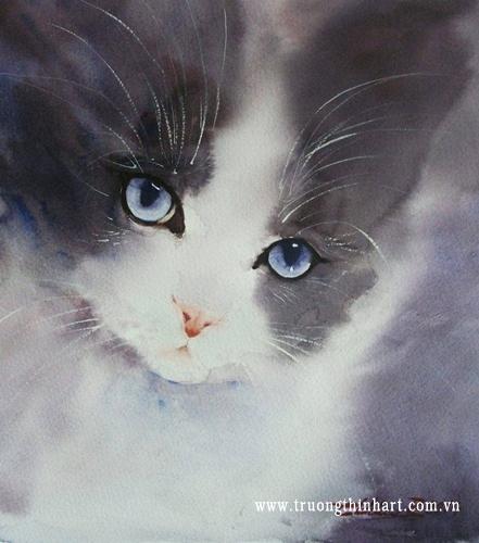 Tranh động vật - Mã: MNTDV012