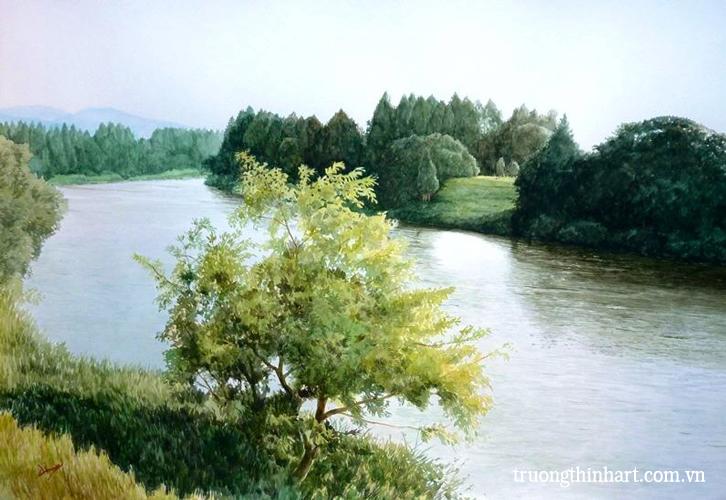 Tranh phong cảnh - Mã: TPC002