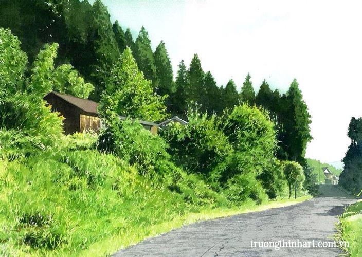 Tranh phong cảnh - Mã: TPC004