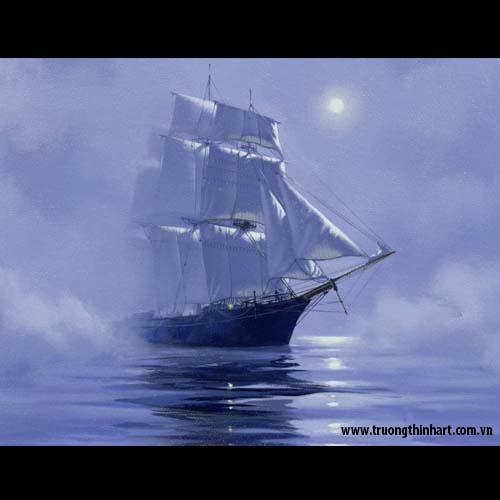 Tranh biển - Mã: TB003