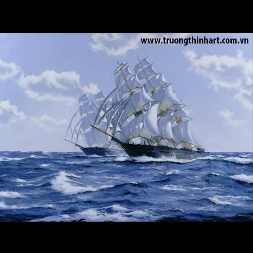 Tranh biển - Mã: TB004