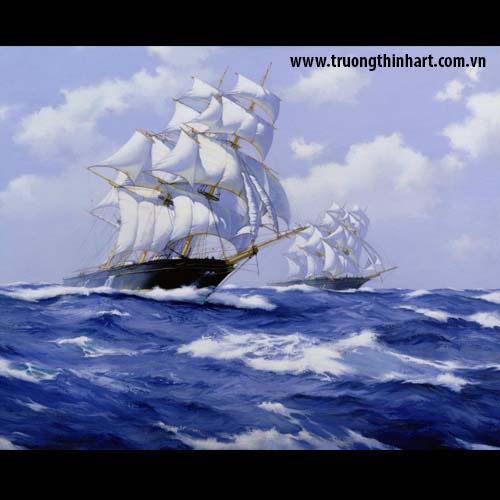 Tranh biển - Mã: TB006