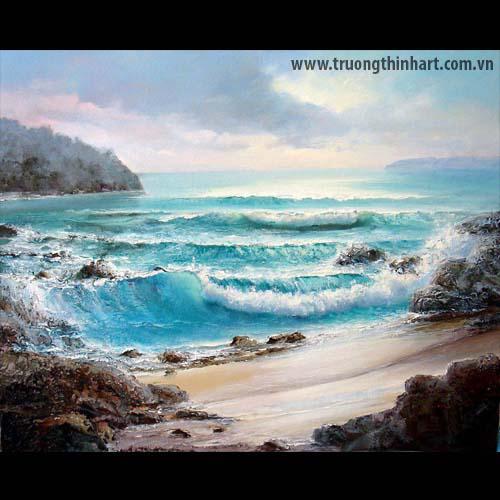 Tranh biển - Mã: TB011