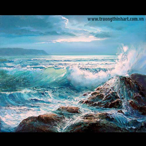 Tranh biển - Mã: TB012