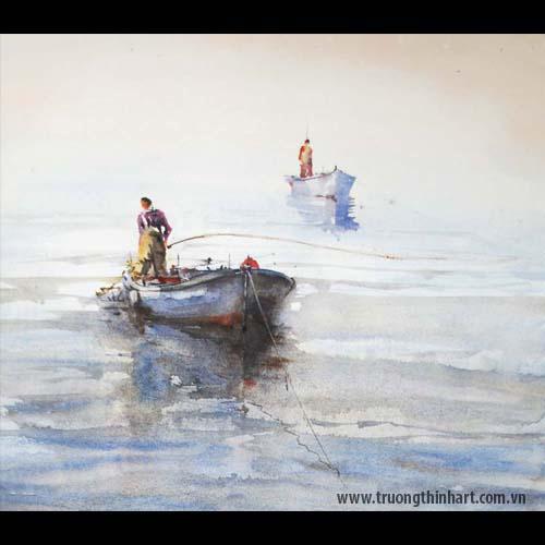 Tranh biển - Mã: TB014