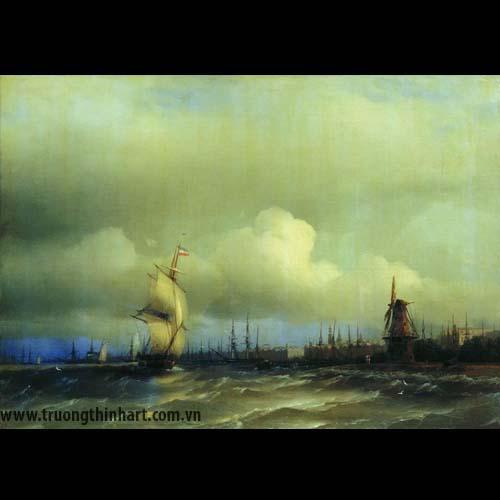 Tranh biển - Mã: TB016