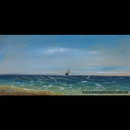Tranh biển - Mã: TB017