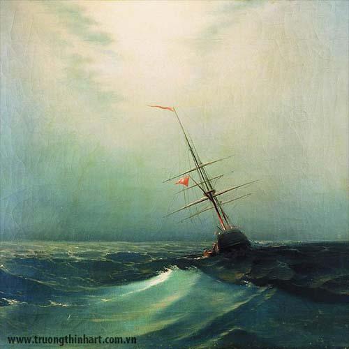 Tranh biển - Mã: TB018