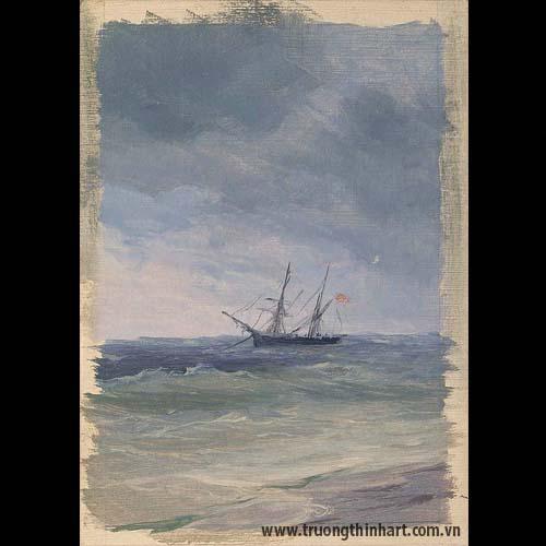 Tranh biển - Mã: TB019