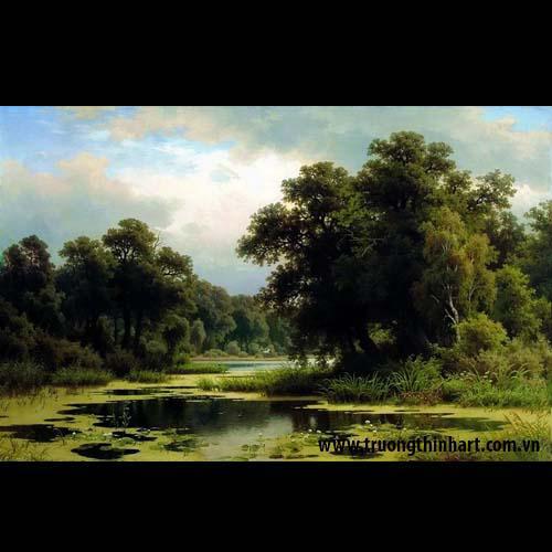 Tranh núi rừng - Mã: TNR005