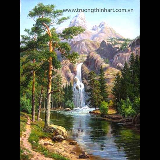 Tranh núi rừng - Mã: TNR009