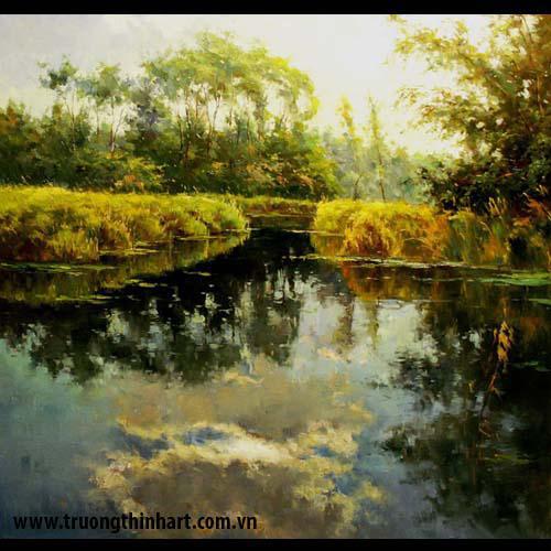 Tranh núi rừng - Mã: TNR010