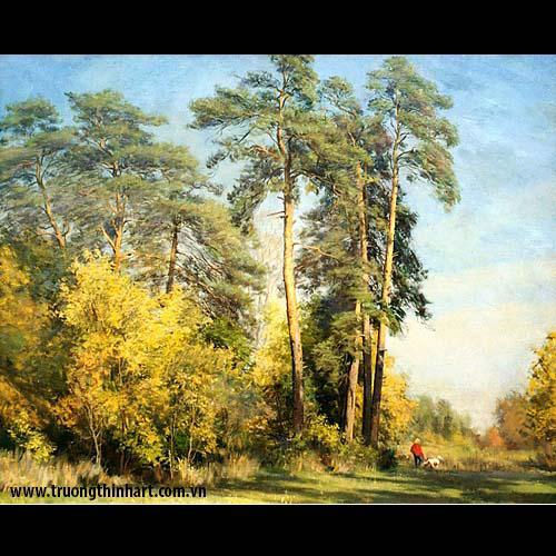 Tranh núi rừng - Mã: TNR022