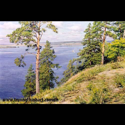 Tranh núi rừng - Mã: TNR023