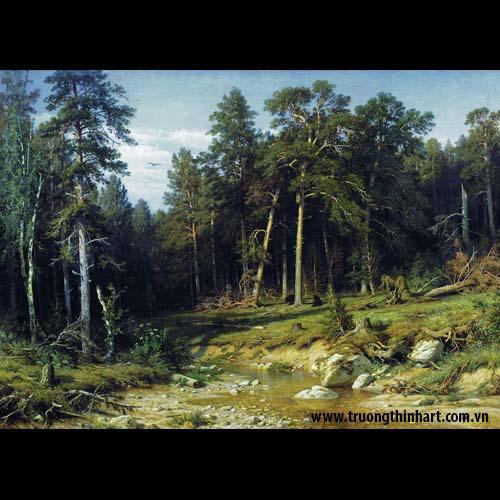 Tranh núi rừng - Mã: TNR024