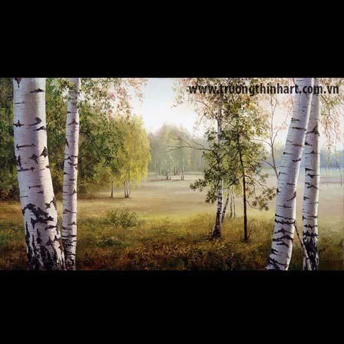 Tranh núi rừng - Mã: TNR025
