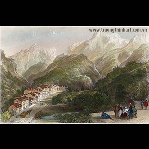 Tranh núi rừng - Mã: TNR028