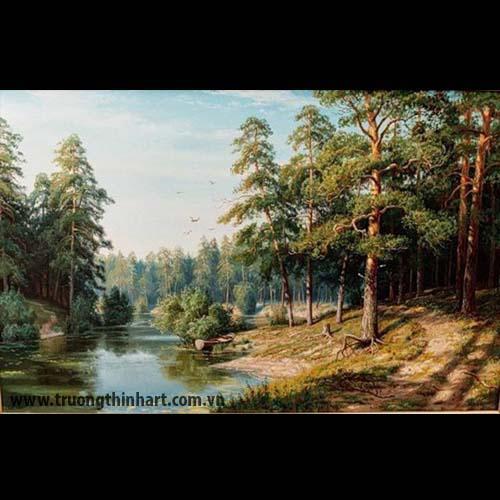 Tranh núi rừng - Mã: TNR029