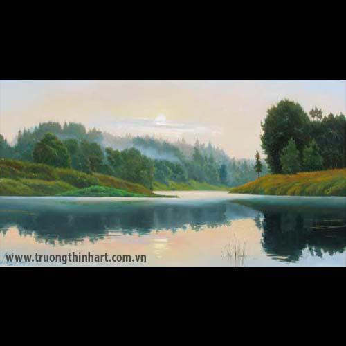 Tranh núi rừng - Mã: TNR035