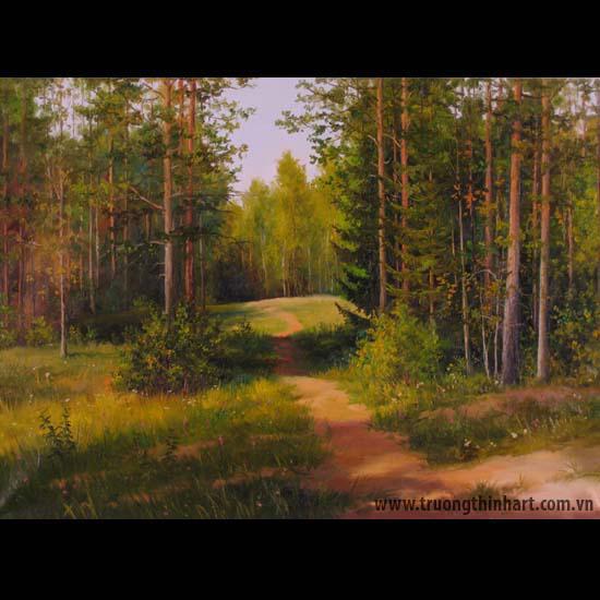 Tranh núi rừng - Mã: TNR046