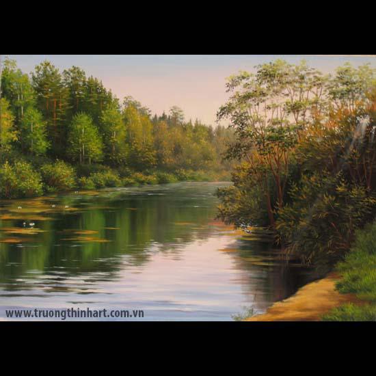 Tranh núi rừng - Mã: TNR053