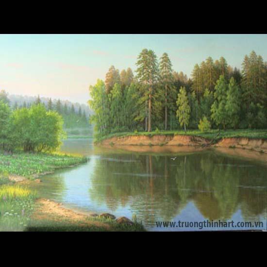 Tranh núi rừng - Mã: TNR062