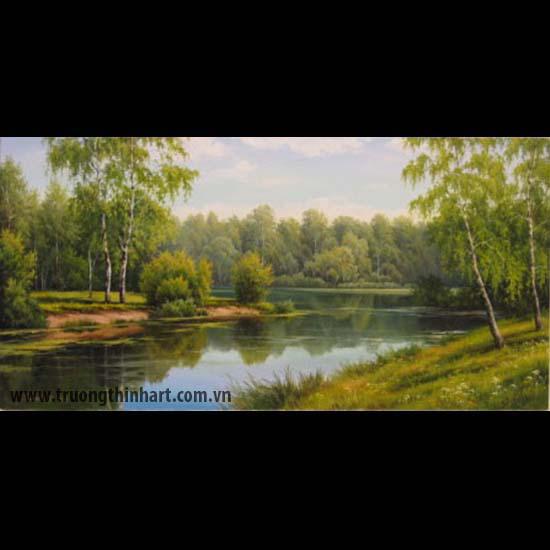 Tranh núi rừng - Mã: TNR064
