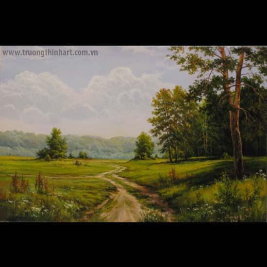 Tranh núi rừng - Mã: TNR065