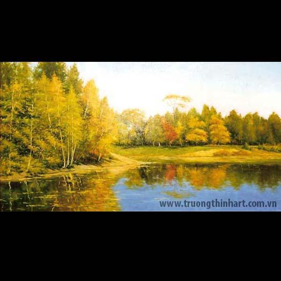 Tranh núi rừng - Mã: TNR071