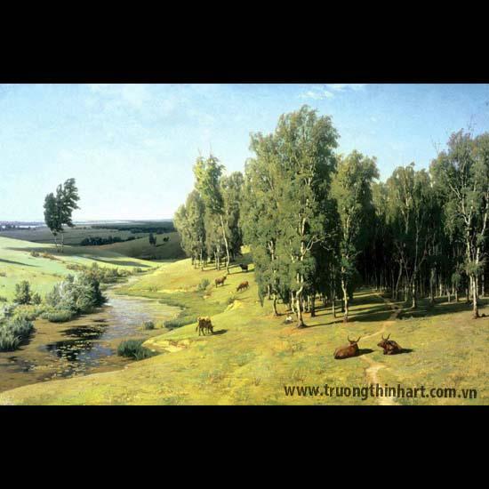 Tranh núi rừng - Mã: TNR075