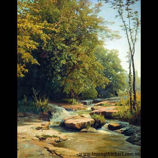 Tranh núi rừng - Mã: TNR082