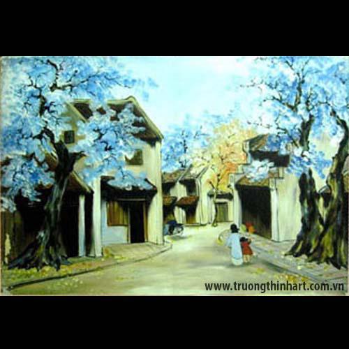 Tranh phố cổ - Mã: TPC015