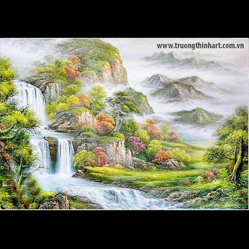 Tranh Sơn Thủy - Mã: TSDTST002