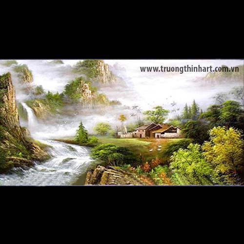 Tranh Sơn Thủy - Mã: TSDTST010