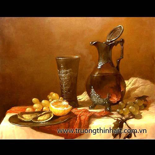 Tranh tĩnh vật Hoa quả - Mã: TTVHQ018