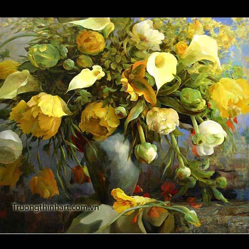 Tranh tĩnh vật Hoa quả - Mã: TTVHQ024