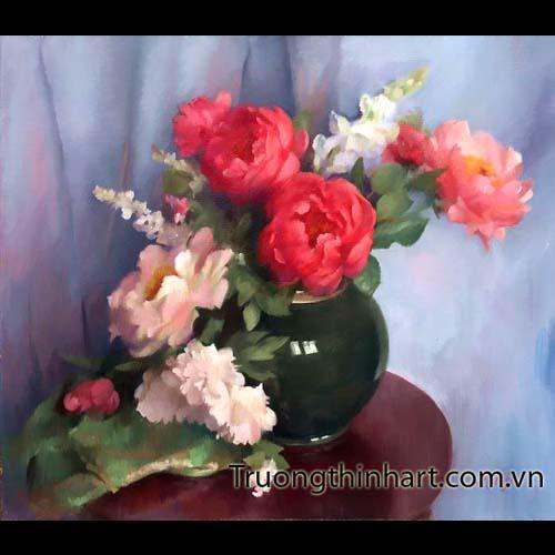 Tranh tĩnh vật Hoa quả - Mã: TTVHQ032