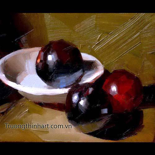 Tranh tĩnh vật Hoa quả - Mã: TTVHQ034