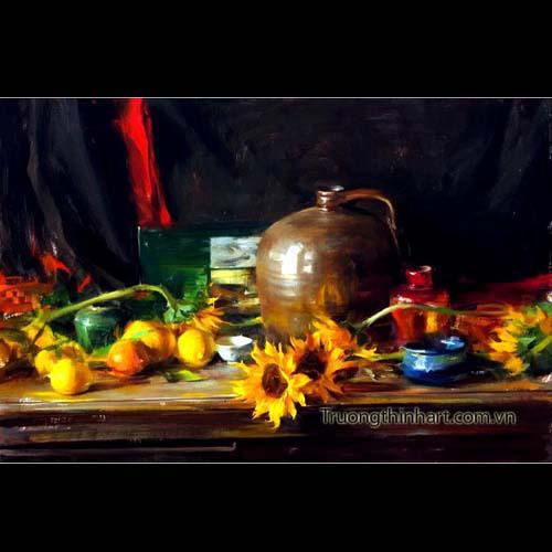Tranh tĩnh vật Hoa quả - Mã: TTVHQ041