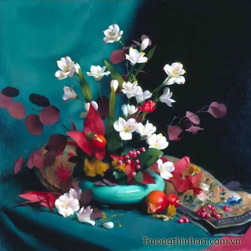 Tranh tĩnh vật Hoa quả - Mã: TTVHQ044