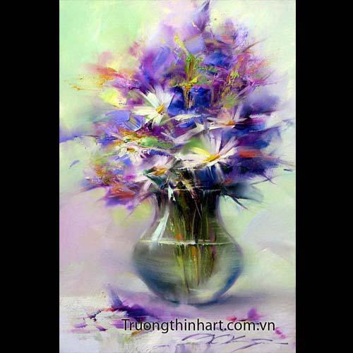 Tranh tĩnh vật Hoa quả - Mã: TTVHQ056