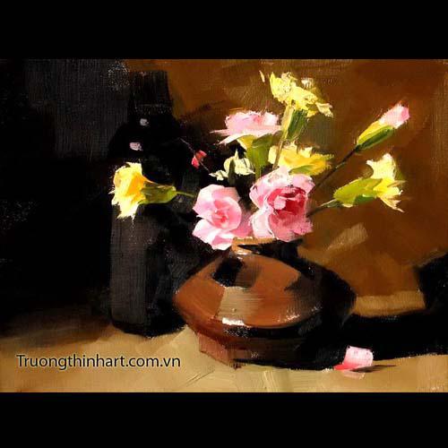 Tranh tĩnh vật Hoa quả - Mã: TTVHQ060