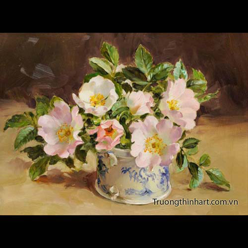 Tranh tĩnh vật Hoa quả - Mã: TTVHQ063