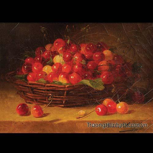 Tranh tĩnh vật Hoa quả - Mã: TTVHQ066