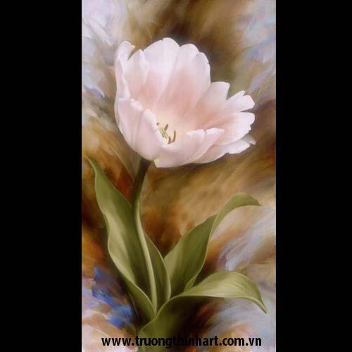 Tranh tĩnh vật Hoa - Mã: SDTTVT019