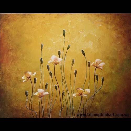Tranh tĩnh vật Hoa - Mã: SDTTVT054
