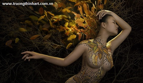 Tranh thiếu nữ Việt Nam - Mã: TSTTTNVN019