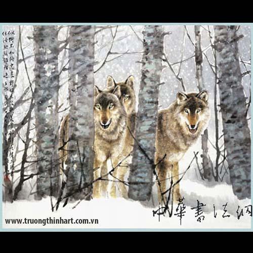 Tranh Chó - Mã: TMTC001