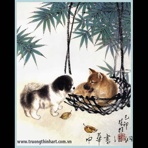 Tranh Chó - Mã: TMTC004